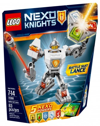 Nouveau LEGO Nexo Knights 70366 Battle Suit Lance