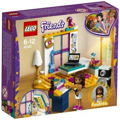 Nouveau LEGO Friends 41341 Andrea's Bedroom 2018