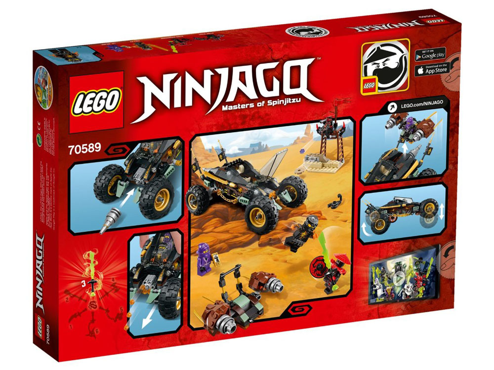 LEGO Ninjago 70589 - Cole's Rock Raider - Photo 2