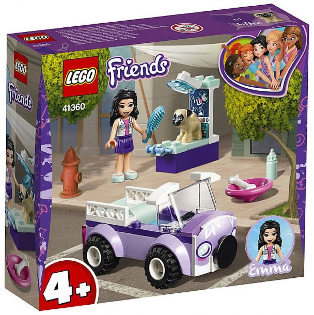 Nouveau LEGO Friends 41360 Emma's Mobile Veterinary Clinic 2019