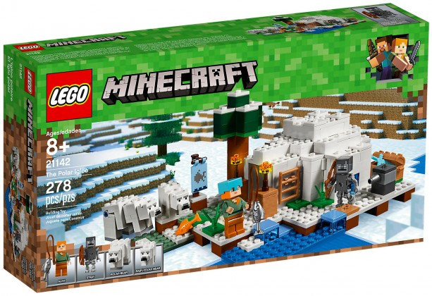 Nouveau LEGO Minecraft 21142 L'igloo 2018