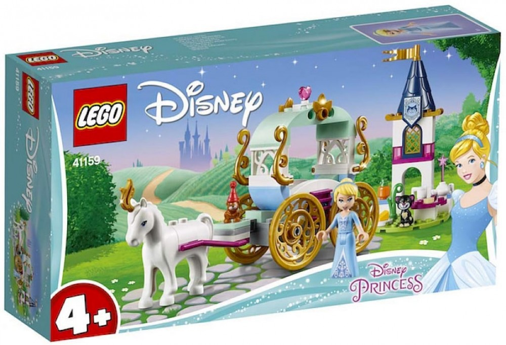 Nouveau LEGO Disney 41159 Cinderella's Carriage Ride 2019