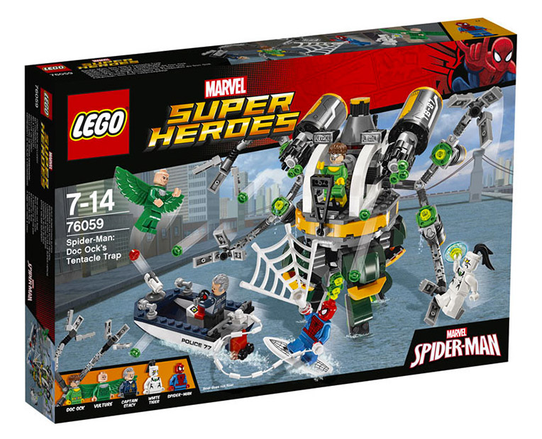LEGO Marvel Super Heroes  76059 - Spider-Man: Doc Ock's Tentacle Trap - Photo 1