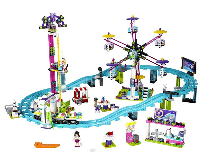 LEGO Friends 41130 - Amusement Park Roller Coaster - Photo 2