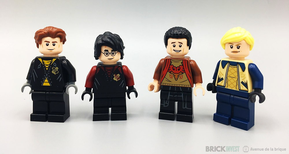 LEGO Harry Potter 75946 Les quatre minifigurines