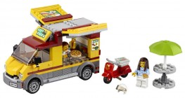 Nouveau LEGO City 60150 Pizza Van 2017