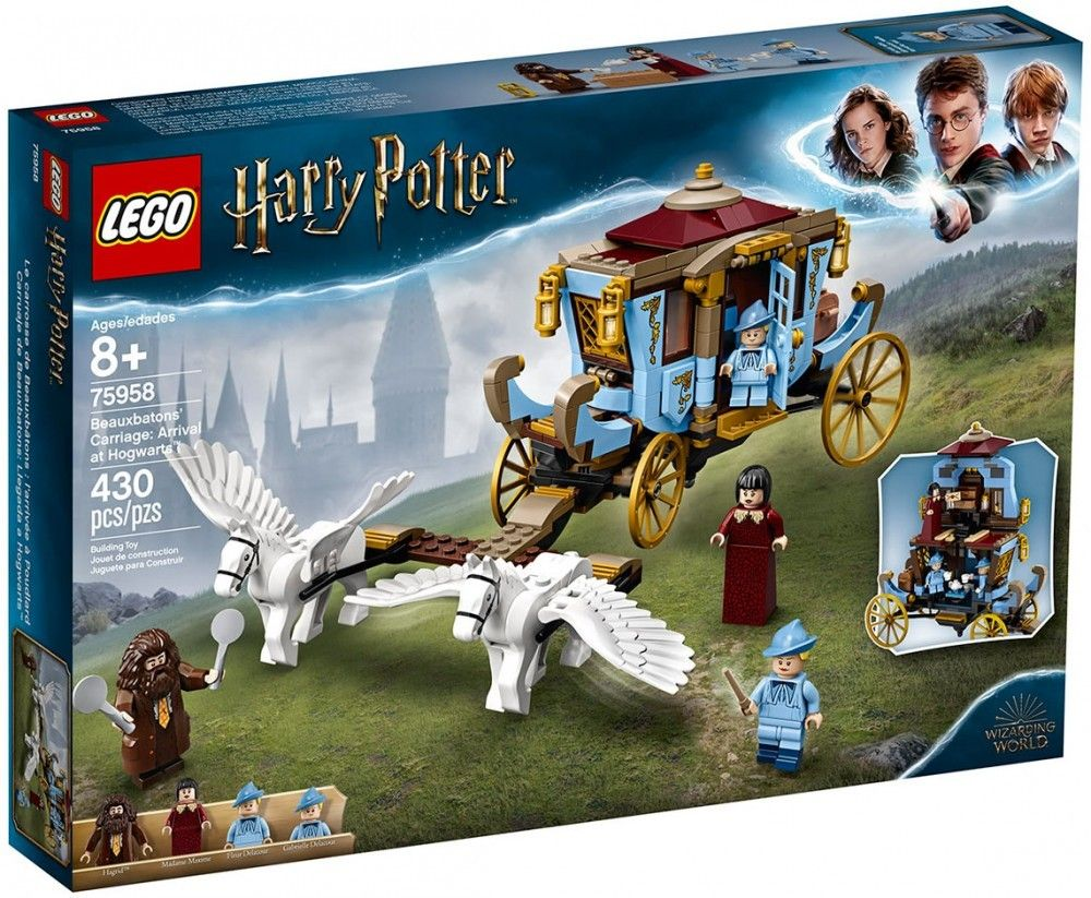 Nouveau LEGO Harry Potter 75958 Beauxbatons' Carriage: Arrival at Hogwarts