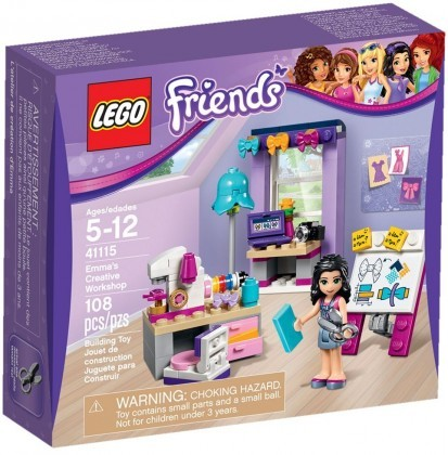 LEGO Friends 41115 - L'atelier de couture d'Emma