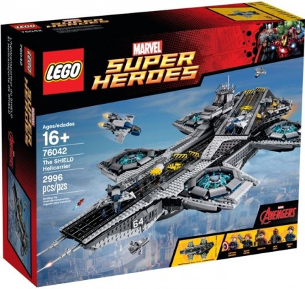 LEGO Marvel Super Heroes 76042 L'hélitransport du Shield