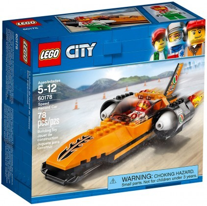 Nouveau LEGO City 60178 Speed Record Car 2018