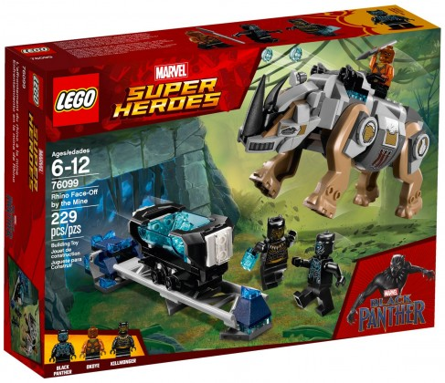 Nouveau LEGO Marvel 76099 L'affrontement du rhino à la mine (Black Panther) 2018
