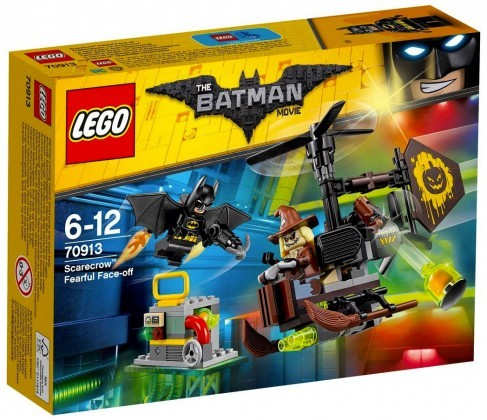 Nouveau LEGO The Batman Movie 70913 Scarecrow Fearful Face-off Juin 2017