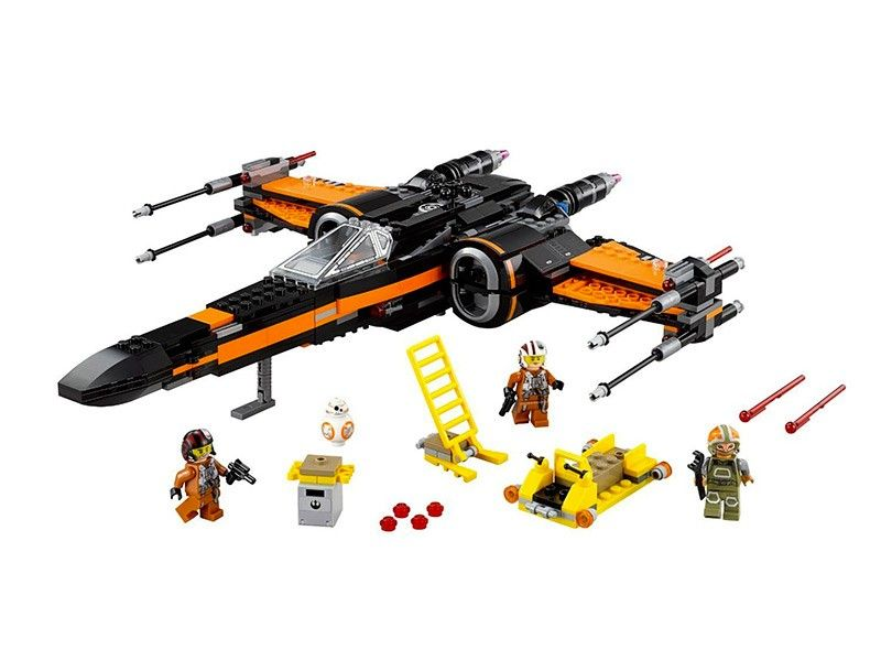 LEGO Star Wars 75102 - Poe-s X-Wing Fighter