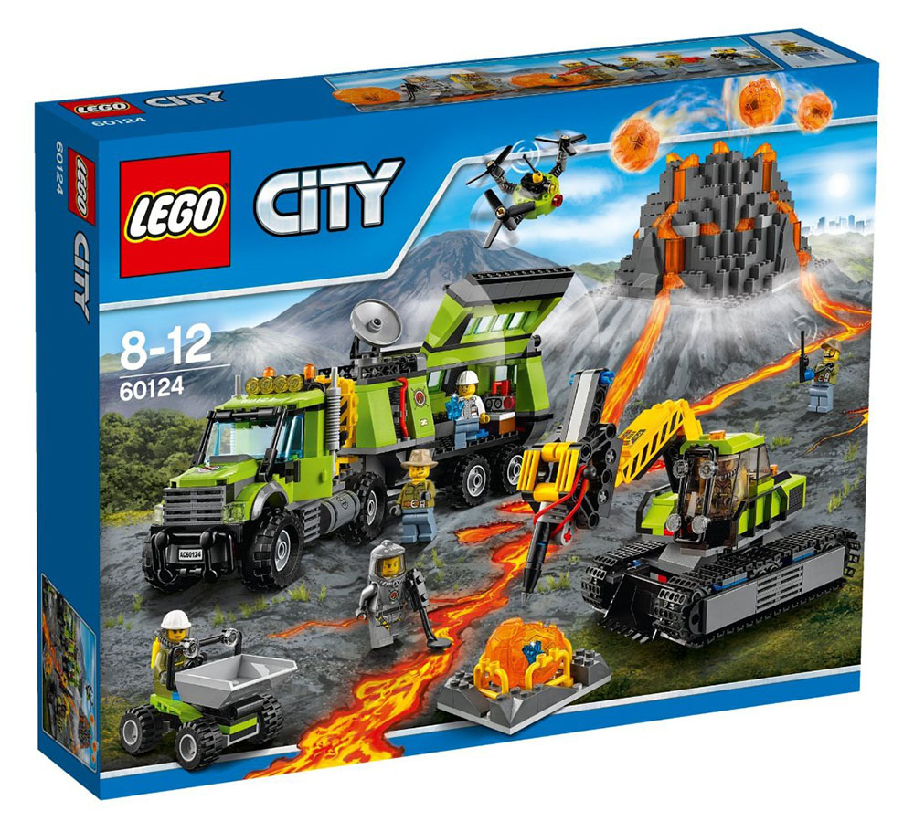 LEGO City Volcano Exploration Base - 60124 - Photo 1