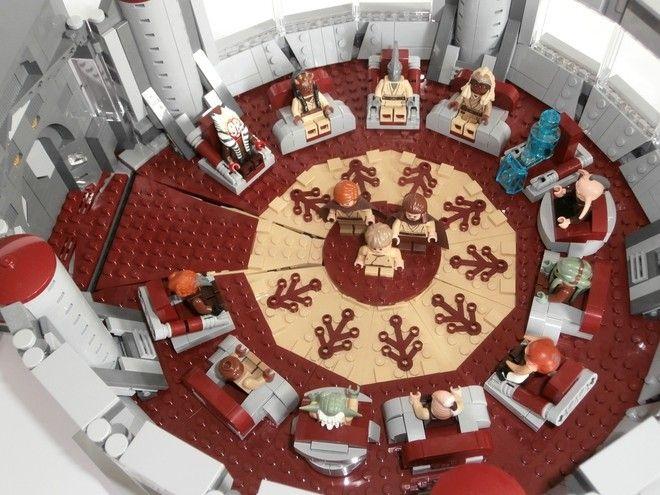 Lego Ideas La Chambre Du Haut Conseil Des Jedi