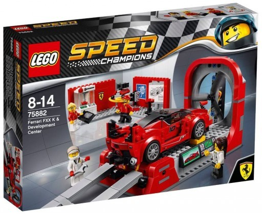 Nouveau LEGO Speed Champions 75882 Ferraru FXX K & Development Center 2017