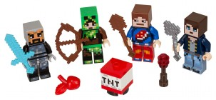 LEGO Minecraft 853609 - Assortiment d'habillages #1