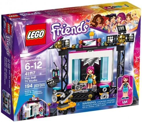 LEGO Friends 41117 - Le plateau TV Pop Star