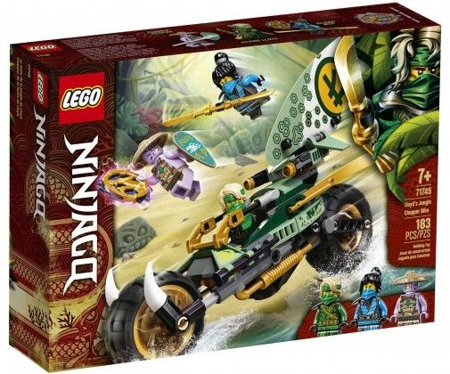 Nouveau LEGO NINJAGO 71744  Lloyd's Jungle Chopper Bike // Mars 2021