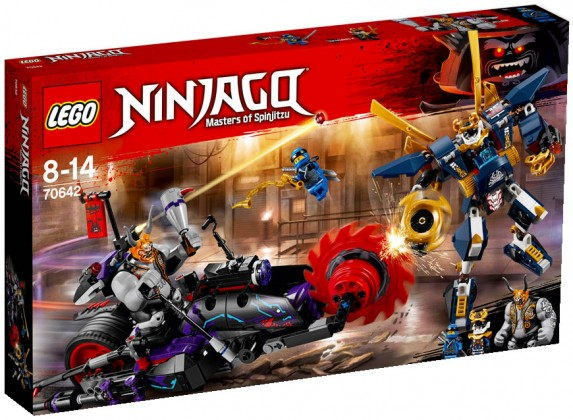 Nouveau LEGO Ninjago 70642 Killow vs Samurai X 2018