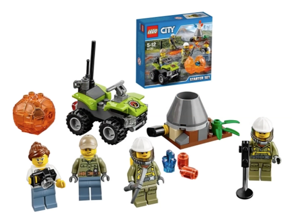 LEGO City Volcano Starter Set - 60120 - Photo 2