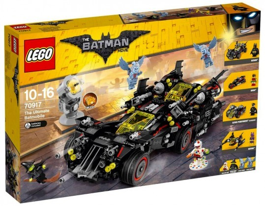 Nouveau LEGO The Batman Movie 70917 The Ultimate Batmobile Juin 2017