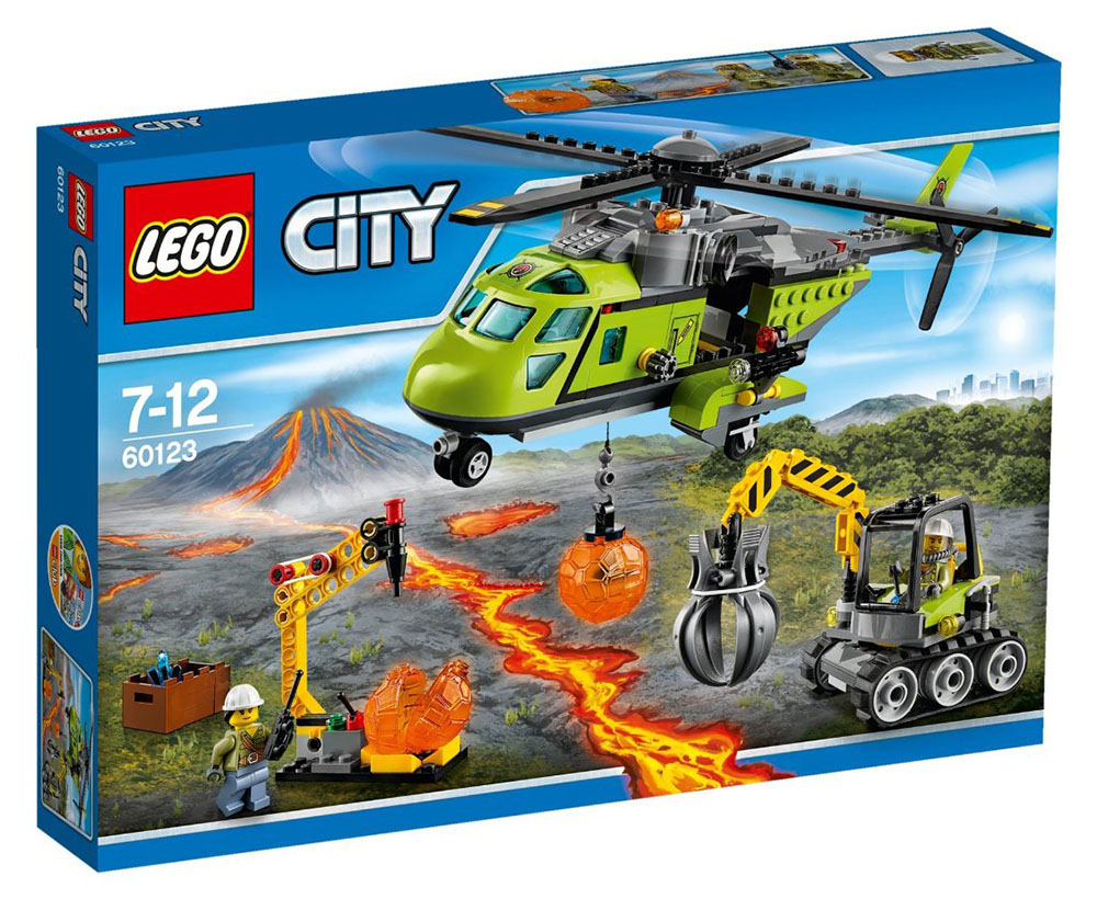 LEGO City Volcano Supply Helicopter - 60123 - Photo 1