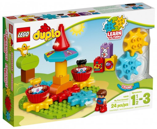 Nouveau LEGO Duplo 10845 My First Carousel 2017