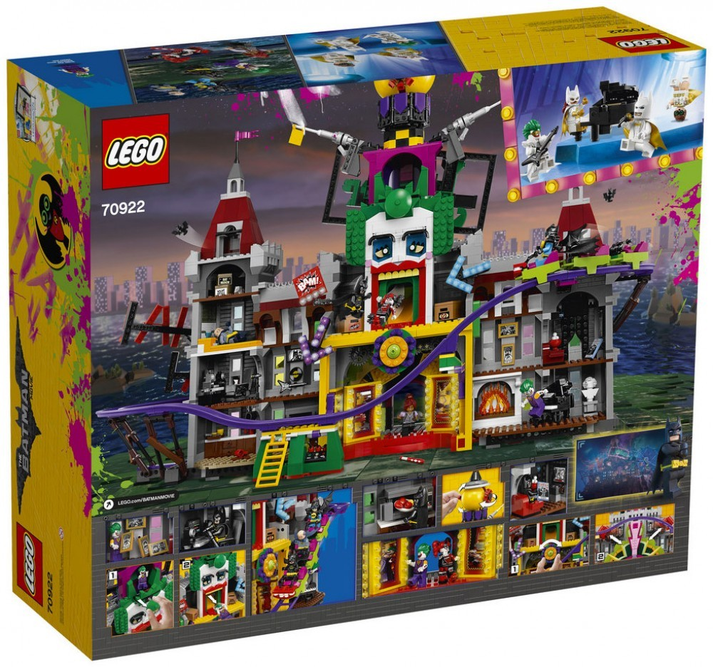 Nouveau LEGO The Batman Movie 70922 Le manoir du Joker