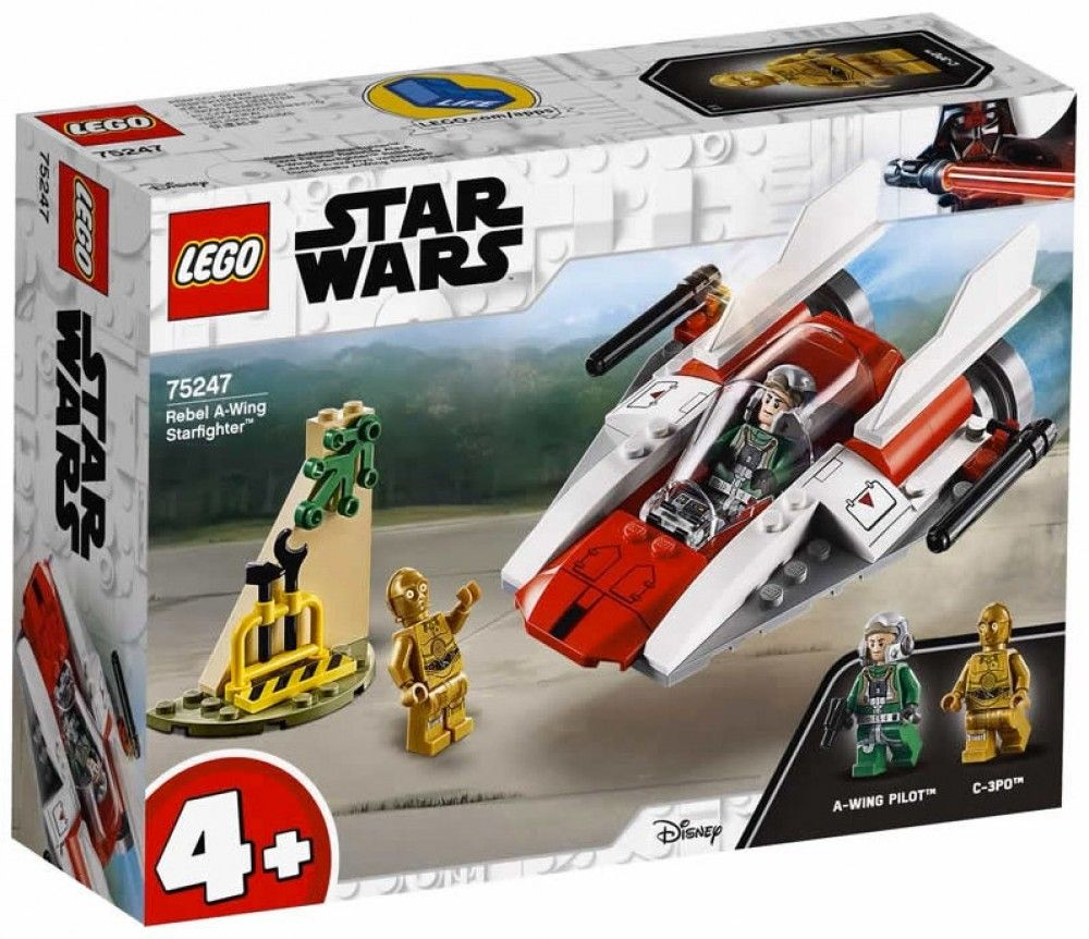 Nouveau LEGO Star Wars 75247 Rebel A-Wing Starfighter 2019