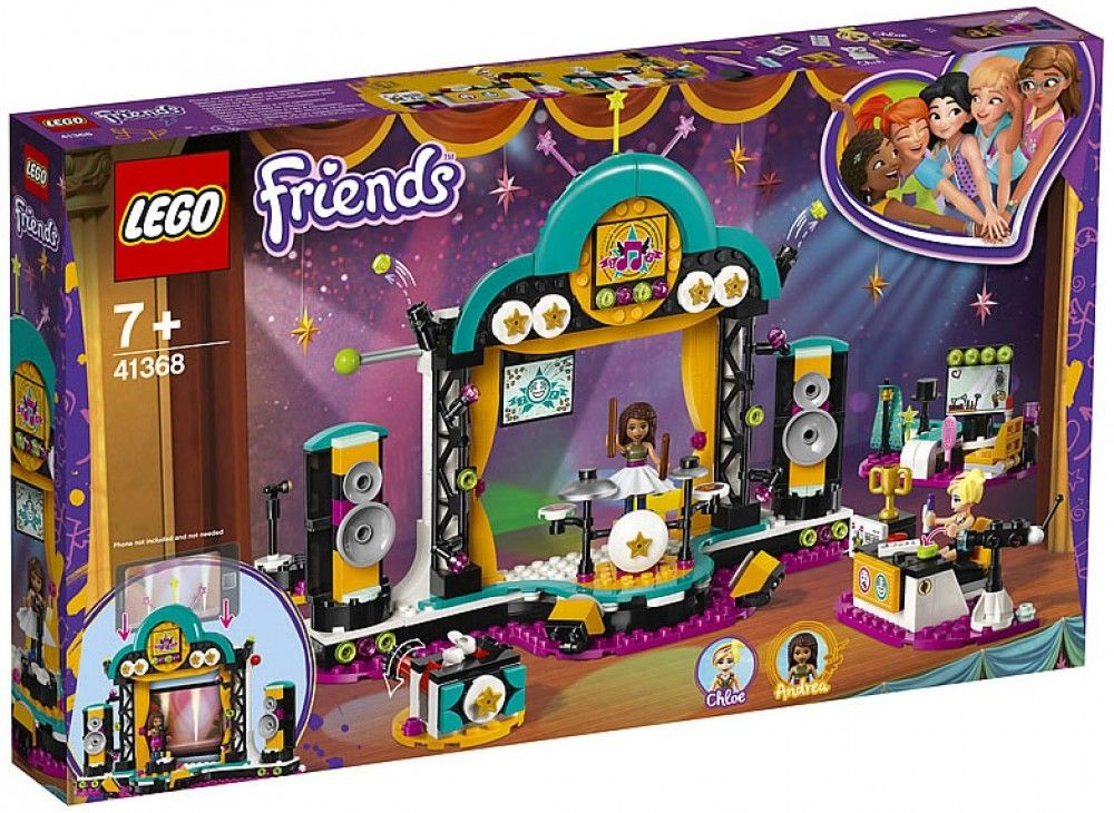 Nouveau LEGO Friends 41368 Andrea's Talent Show 2019