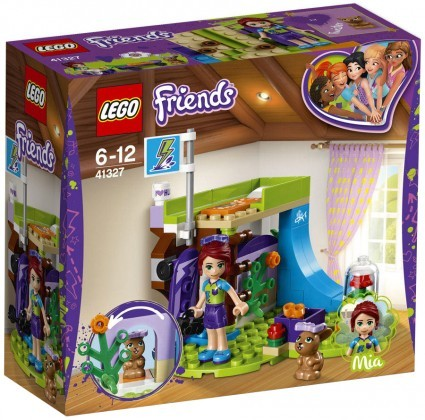 Nouveau LEGO Friends 41327 Mia's Bedroom 2018