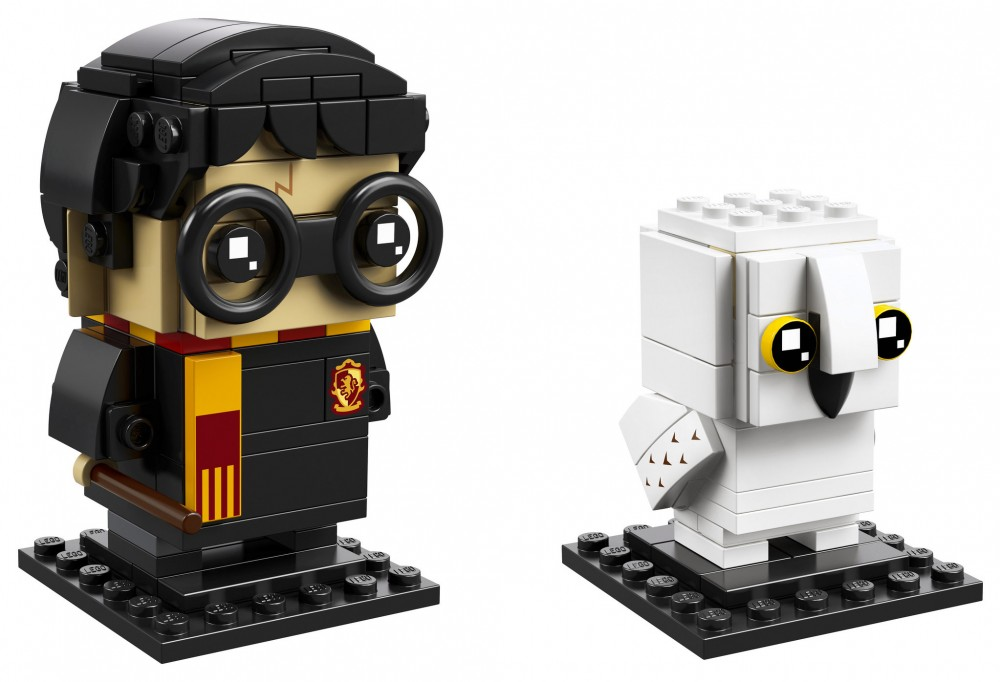 Nouveau LEGO BrickHeadz 41615 Harry Potter & Hedwig 2018