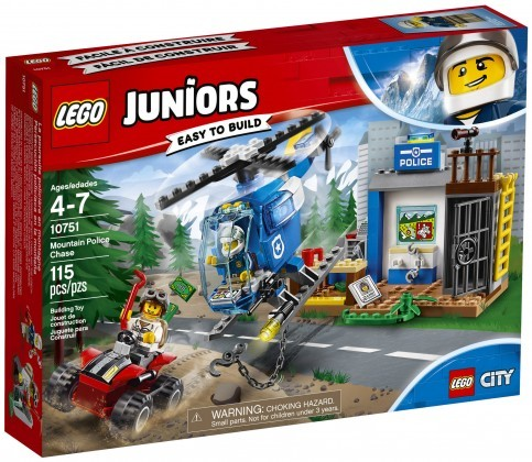 Nouveau LEGO Juniors 10751 Mountain Police Chase 2018