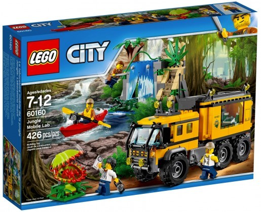 Nouveau LEGO City 60160 Le laboratoire mobile de la jungle Juin 2017