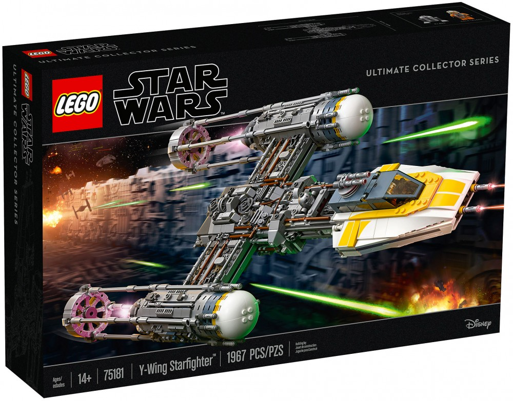 Nouveau  LEGO Star Wars 75181 Y-Wing Starfighter UCS