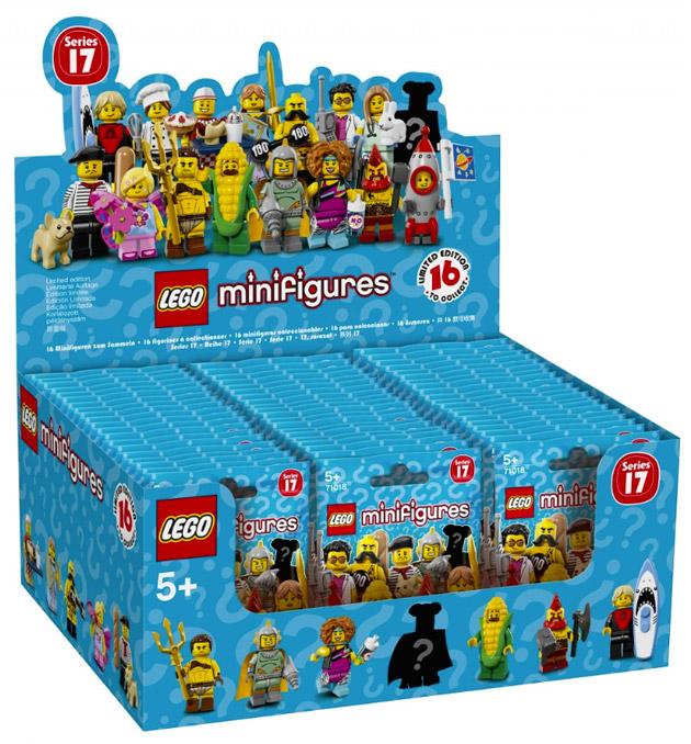 LEGO Minifigures 71018 Série 17 Boîte de 60 sachets
