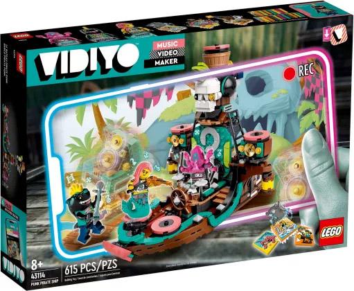 Nouveau LEGO VIDIYO 43114 Punk Pirate Ship // Juin 2021