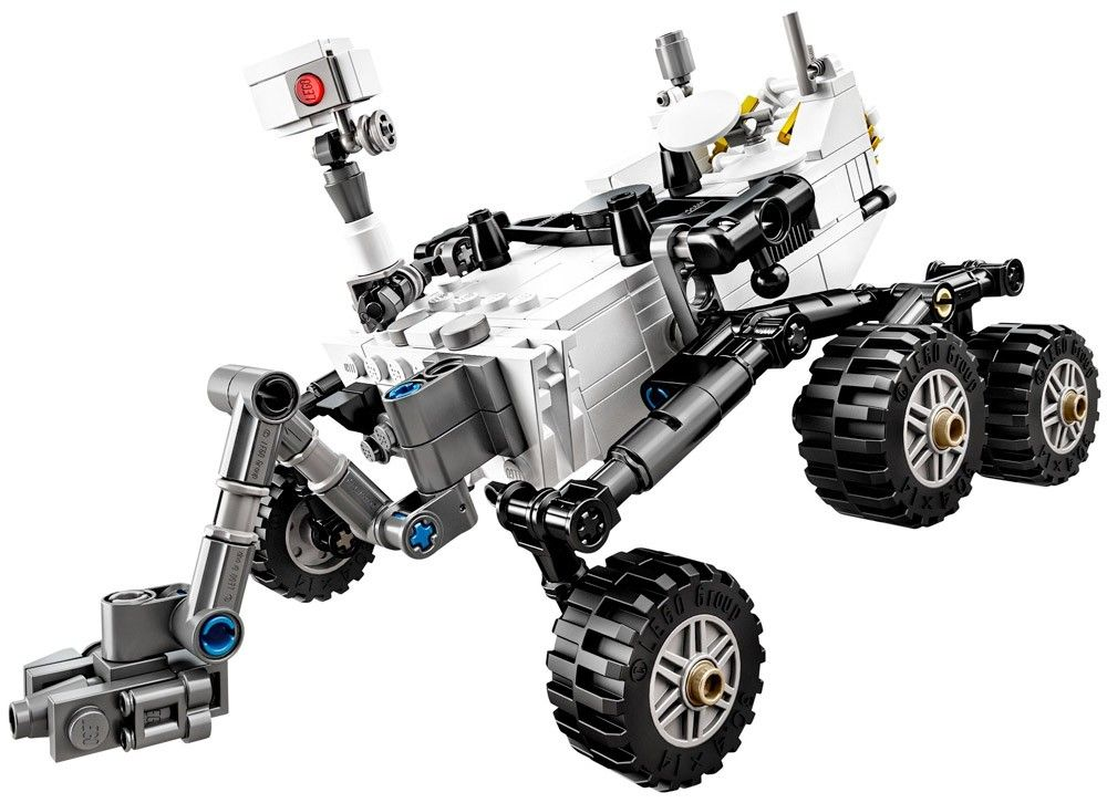 LEGO 21104 - NASA Mars Science Laboratory Curiosity Rover (2014) : un nom aussi long que sa mission !
