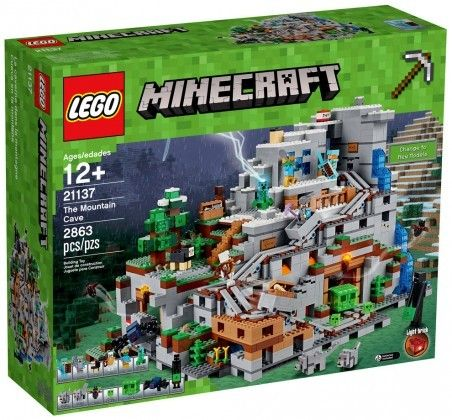 Nouveau LEGO Minecraft 21137 The Mountain Cave 2017