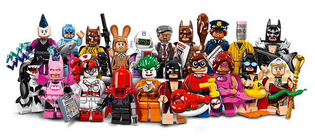 Nouveau LEGO Minifigures 71017 The LEGO Batman Movie