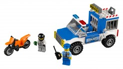 Nouveau LEGO Juniors 10735 Police Truck Chase 2017