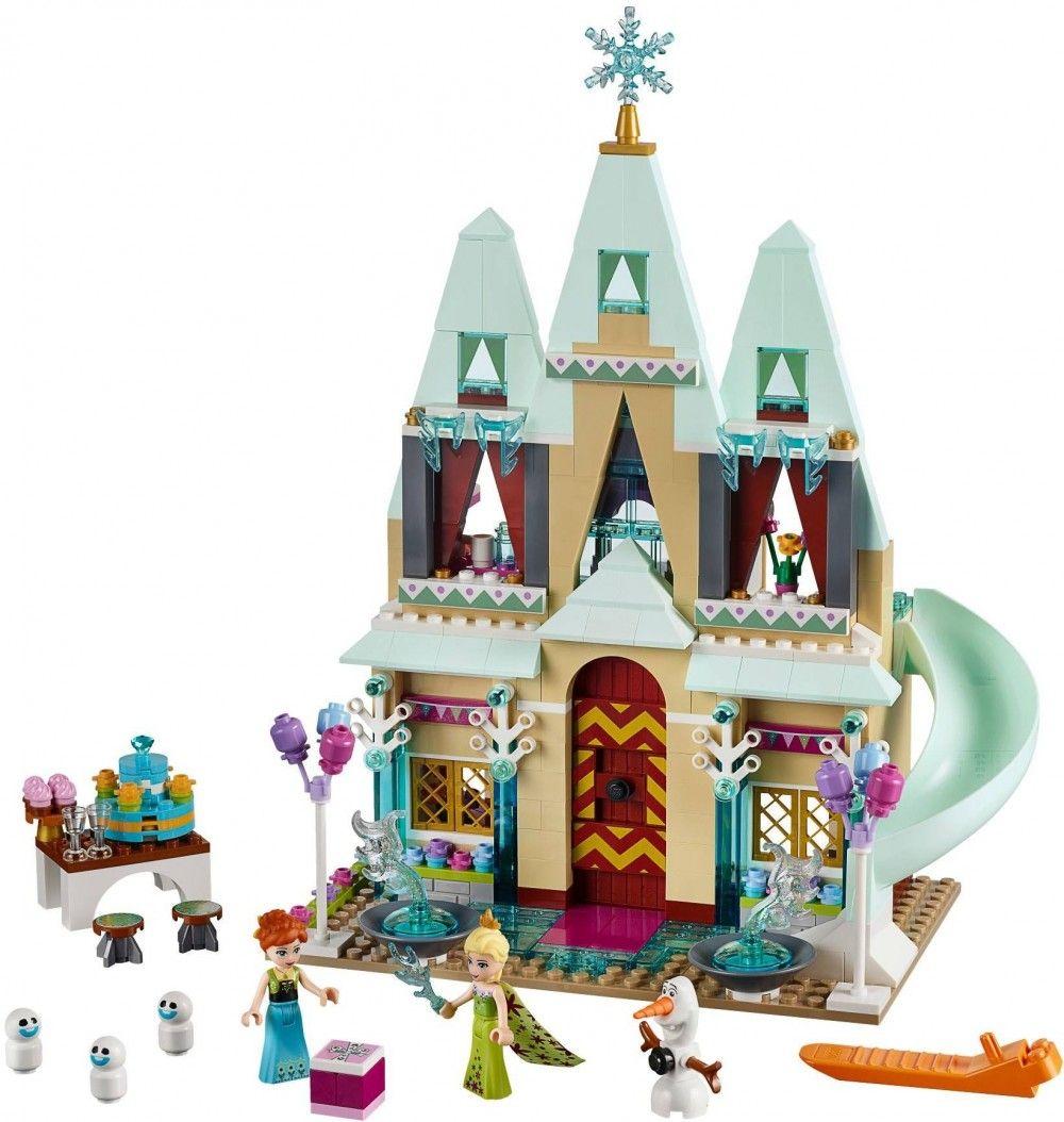La f te au ch teau d 39 arendelle lego la reine des neiges - Chateau de la reine des neige ...