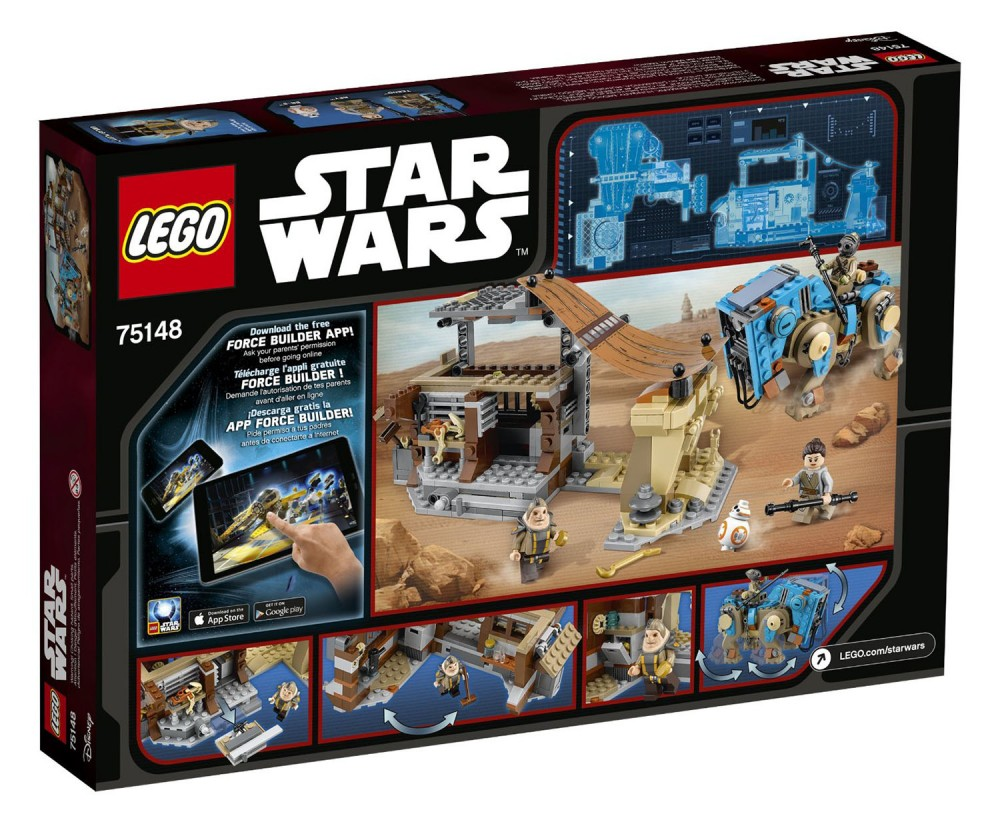 LEGO Star Wars Encounter on Jakku - 75148 - Photo 2