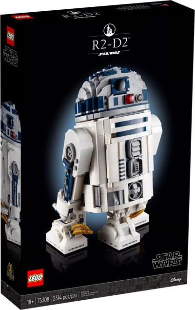 Nouveau LEGO Star Wars 75308 R2-D2 // Mai 2021