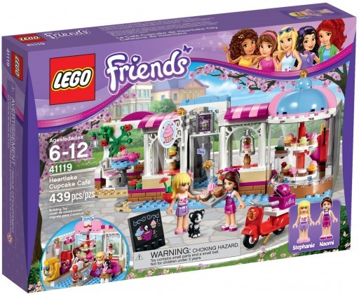 LEGO Friends 41119 - Le cupcake café d'Heartlake City