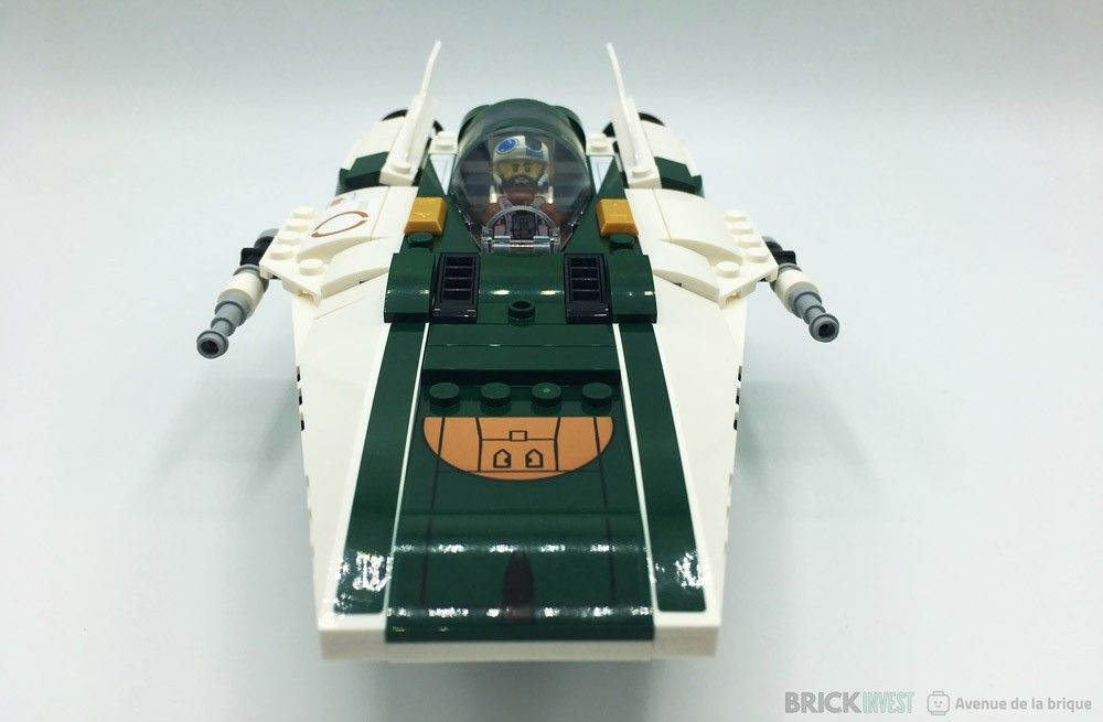 Review LEGO Star Wars 75248 Resistance A-Wing Starfighter - Le vaisseau