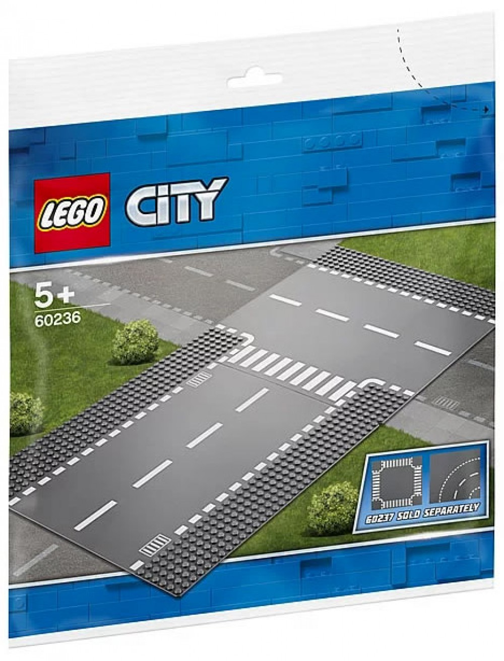 Nouveau LEGO City 60236 Straight & T-Junction 2019