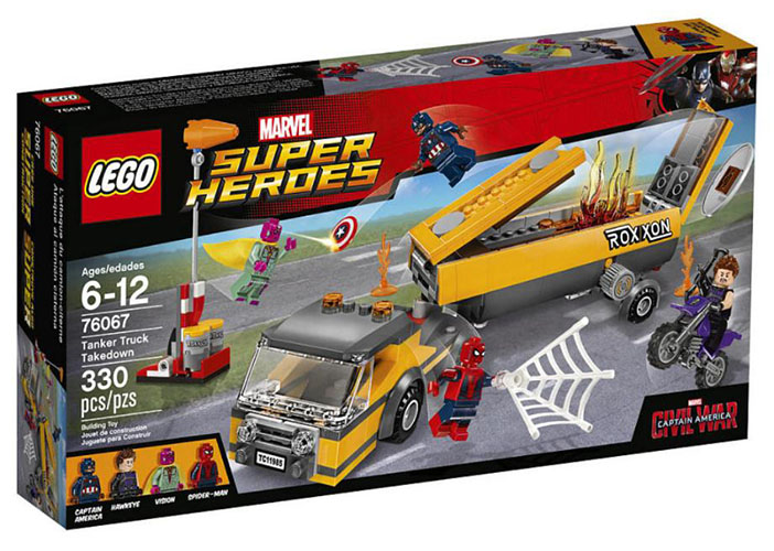 Marvel Super Heroes 76067 : Tanker Truck Takedown - Photo 1
