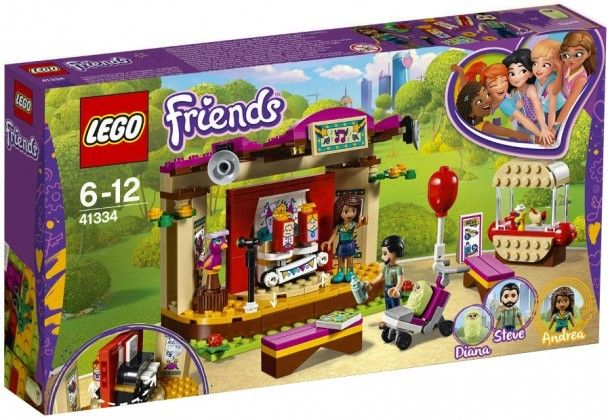 Nouveau LEGO Friends 41334 Andrea's Park Performance 2018
